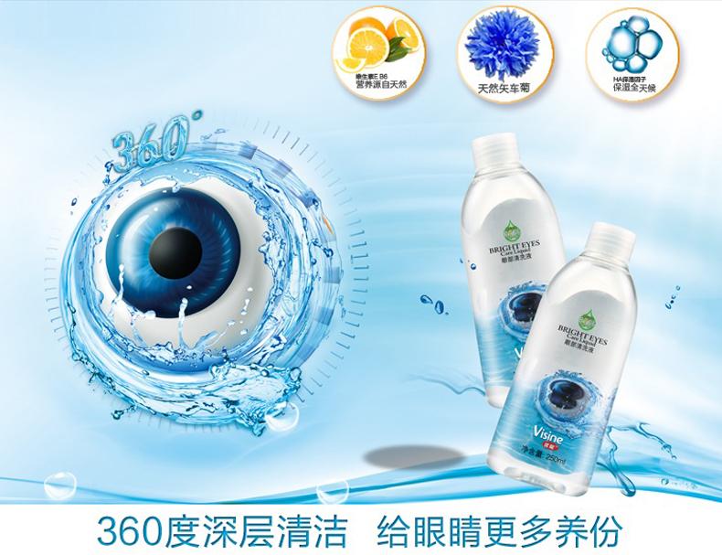 优能360大眼睛洗眼液 250ml
