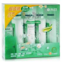 海昌水清新多效护理液4*120ML(送水感觉润眼液15ml+双联盒)