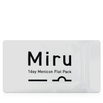Miru米如超薄日抛隐形眼镜3片x2盒 旅行装