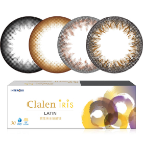 茵洛Clalen iris日抛彩色隐形眼镜30片装