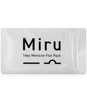 Miru米如超薄日抛隐形眼镜透明片3片装-无色