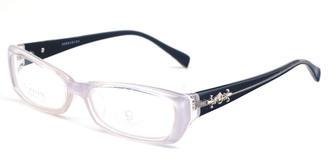 哥拓普眼镜架 LV-5203 白色/-/银白色黑色
