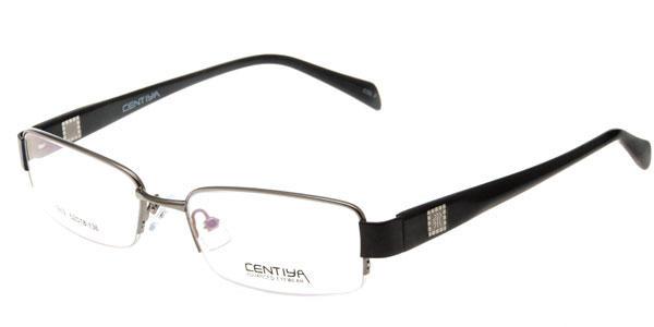 视客眼镜网 框架眼镜 肯地雅 肯地雅眼镜centiya 1859 银白色
