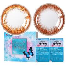 韩国GEO Honey Wing半年抛彩色隐形眼镜2片装(李圣经同款)