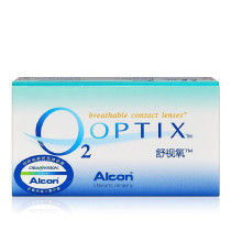 爱尔康视康舒视氧硅水凝胶隐形眼镜月抛3片装