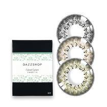 DAZZSHOP甜美系列SWEET 01年拋彩色隱形眼鏡1片裝