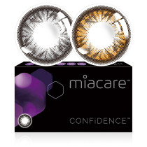 Miacare美若康綻美硅水凝膠彩色隱形眼鏡月拋1片裝(海外版)