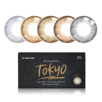 LENSTOWN Romantea Tokyo Grande月抛彩色隐形眼镜2片装(海外版)