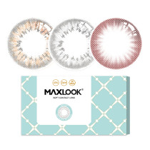 MAXLOOK糖果月抛彩色隐形眼镜2片装