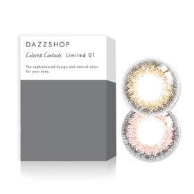 DAZZSHOP NATURAL自然系列彩色隐形眼镜月抛1片装