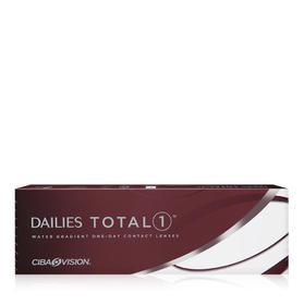 爱尔康DAILIES TOTAL 1 水梯度硅水凝胶隐形眼镜日抛5片装(海外版)