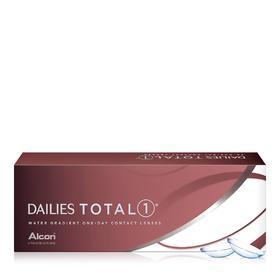 爱尔康DAILIES TOTAL 1 水梯度硅水凝胶隐形眼镜日抛30片装(海外版)