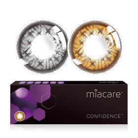 Miacare美若康绽美硅水凝胶彩色隐形眼镜日抛10片装(海外版)