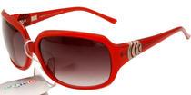 卡帝乐鳄鱼太阳镜CARTELO 欧美潮范 C607 红色/渐进灰/红色