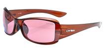 欧野太阳镜OYEA  运动 户外 O0522 亮透明茶/红色/亮透明茶