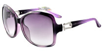 海伦凯勒时尚太阳镜   H1227 水晶紫