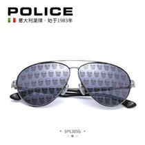 意大利POLICE眼镜内马尔明星同款墨镜男经典骷髅太阳镜女SPL385G