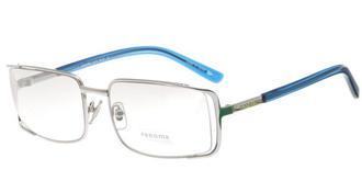 雷诺玛太阳镜Renoma 简约商务 r3263-1 银白色/渐进灰/蓝色